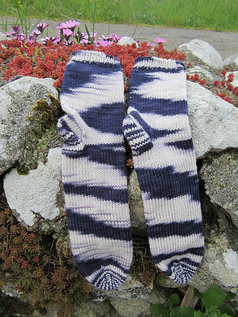 Lila liebe socks