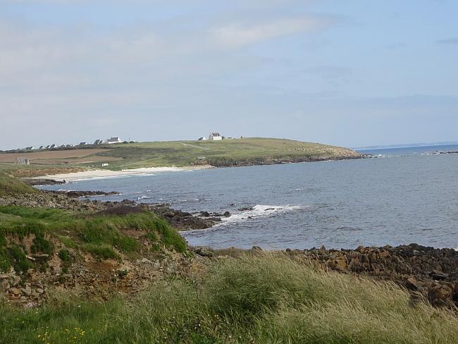 Brittany coast line