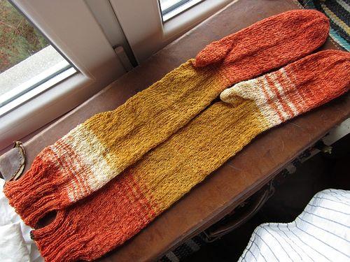 Orange stockings