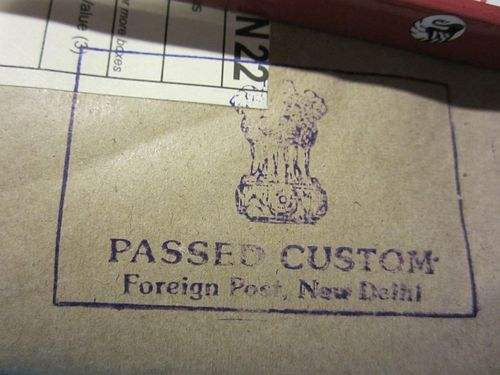 Customs india