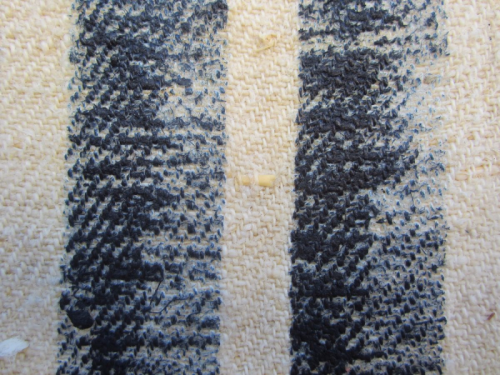 Indigo stripes detail 3